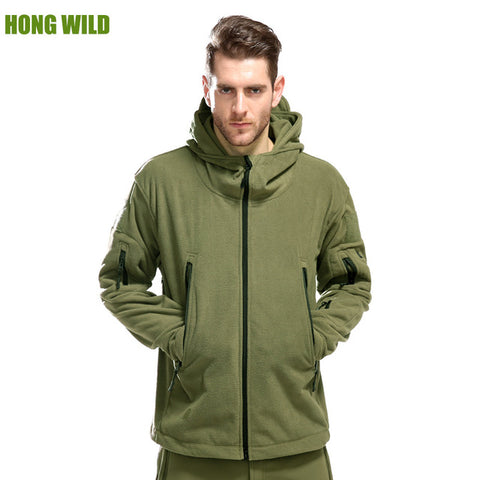 HONG WILD Military Mode Hiver Jacket Homme