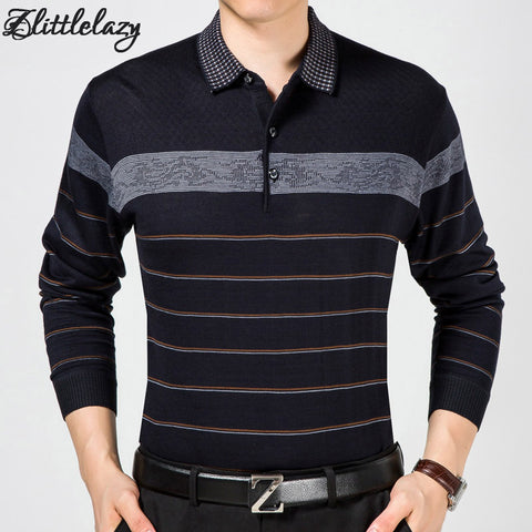 2017 casual long sleeve business mens shirts