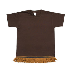 Starting at $12.99 Chocolate Brown Fringed Tshirt