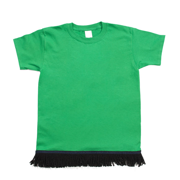 Starting at $12.99 Youth's Fringed Green Tshirt