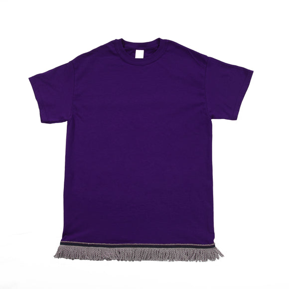 Starting at $12.99 Youth's Purple Tshirt- Grey Fringe
