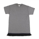 Starting at $12.99 Dark Grey Fringed Tshirt