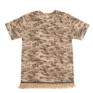 Starting at $27.99 Desert Camo Fringed Tshirt