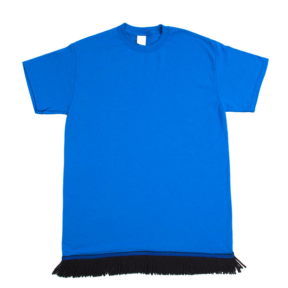 Blue Fringed Tshirt