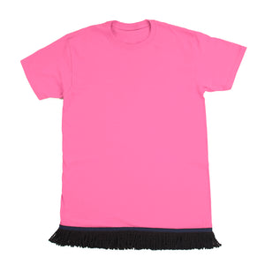 Starting at $12.99 Woman's Light Pink Fringed Tshirt