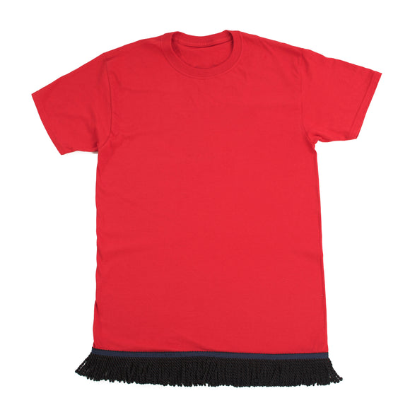 Red Fringed Tshirt
