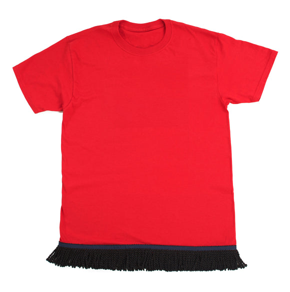 Youth's Fringed Red Tshirt