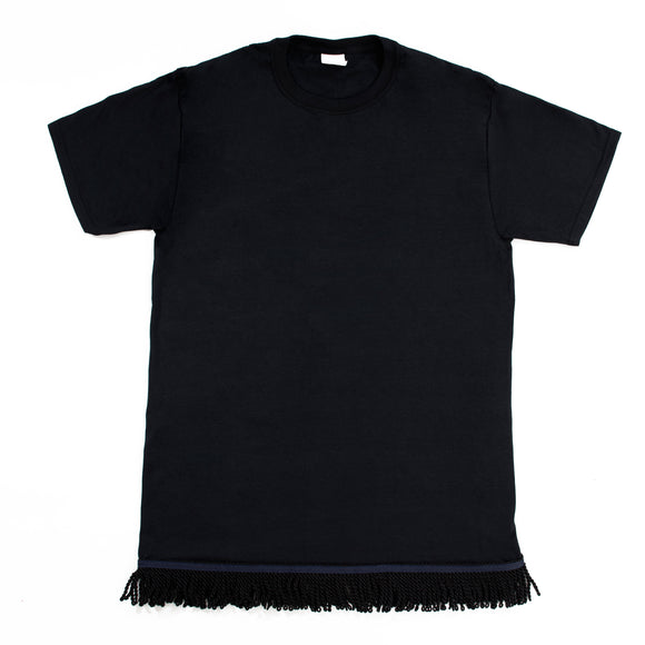 Youth's Fringed Black Tshirt