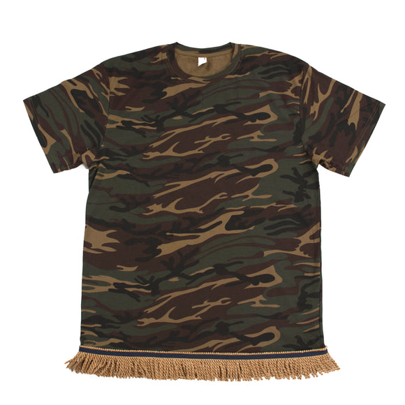 Starting at $27.99 Camo Fringed Tshirt