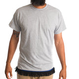 Light Grey Fringed Tshirt