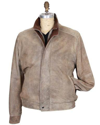 Remy Tan Matte Leather Jacket