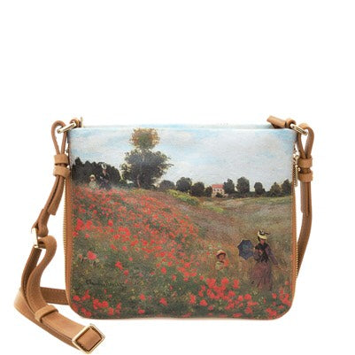 Field of Poppies Messenger Bag