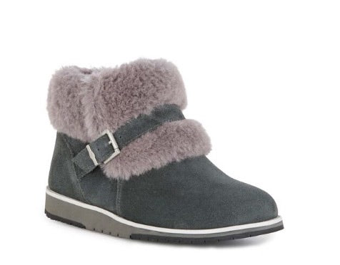 Oxley Fur Cuff Ankle Boot