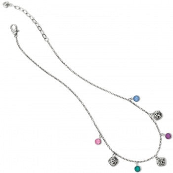 Colorful Gem Necklace