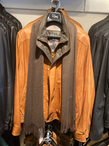 Butterscotch Chocolate Men's Jacket