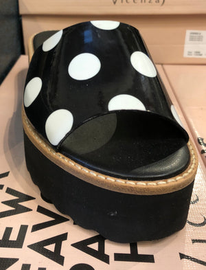 Vicenza Polka-Dot Shoes