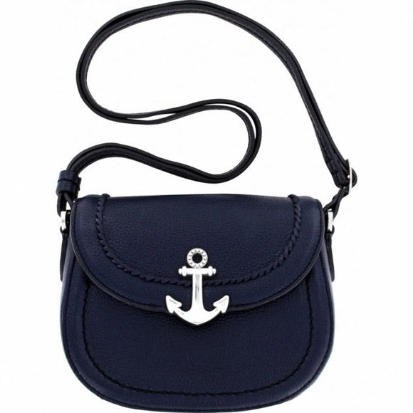 Brighton Navy Anchor Bag