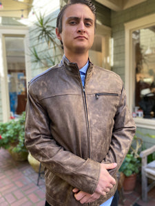 Men's Remy Leather Jacket