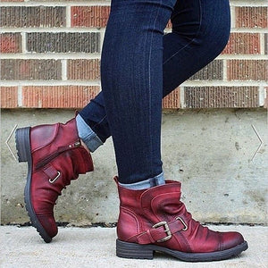 Red Boots for Women