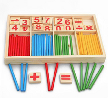 FREE Montessori Mathematical Intelligence Stick Box