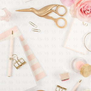 Blush Pink Office Bundle (18 Images)