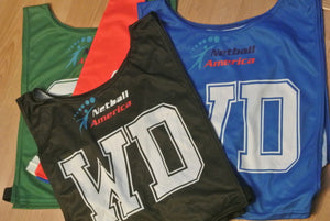 Netball Bibs - single sided