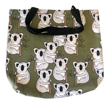 """koala in kahki"" Tote Bag - Shopping Bag -Unique gift - Eco-friendly"