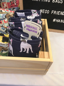 """Fabulous Frenchie"" Tote Bag - Shopping Bag -Unique gift - Eco-friendly"