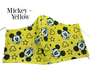 Disney Fabric Face masks - Dumbo, Lion King, Minnie Mouse,  Mickey Mouse