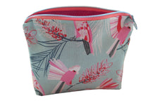 """Crazy Cockatoo"" Makeup Bag - Cosmetic purse - Australian Birds - Australian"