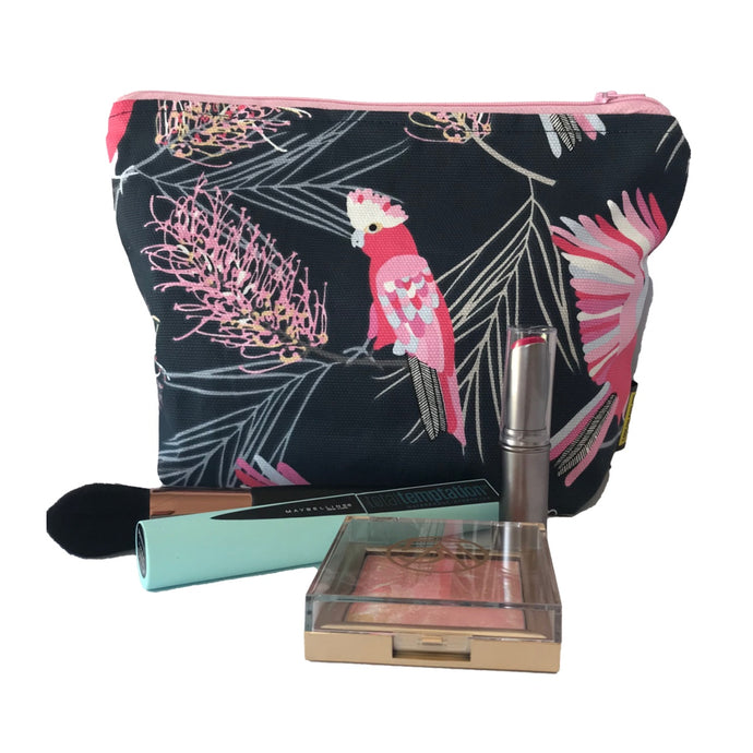 Flaming Galah Makeup Bag