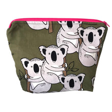 """Koala in Khaki""  Toiletry Bag"