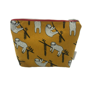 """Sleepy Sloth"" Toiletry Bag"