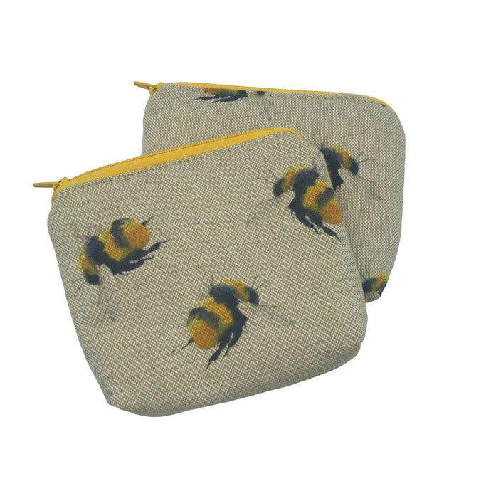 Bumble Bee Purse - Honey Bee - Bee Happy - Coin Purse