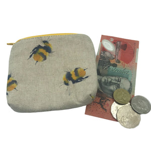 """Bee Happy"" Coin Purse"