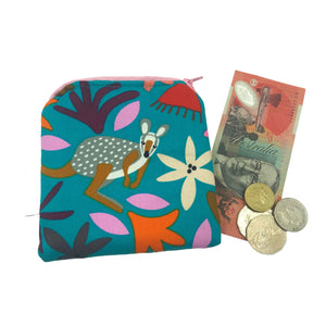 """Wonderful Wallaby"" coin purse"