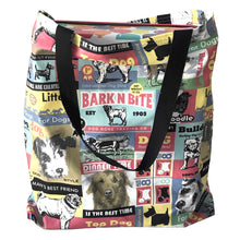 """Barking Mad"" Tote Bag - Shopping Bag -Unique gift - Eco-friendly"
