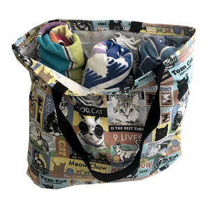 """Crazy Cat Lady""  Tote bag"