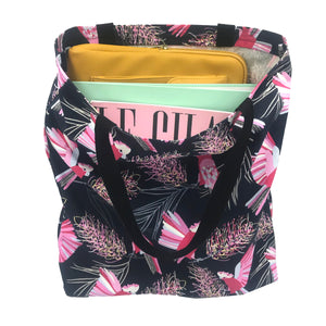 Flaming Galah Tote Bag - Shopping Bag - Australian gift