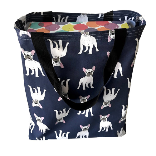 """Fabulous Frenchie"" Tote Bag"