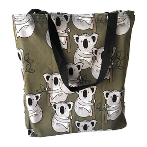 """Koala in khaki"" Tote Bag"