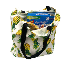 """Perky Pineapple"" Tote Bag"
