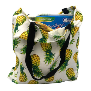 """Perky Pineapple"" Tote Bag - Shopping Bag -Unique gift - Eco-friendly"