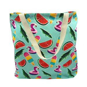 """Fun In The Sun"" Tote Bag - Beach Bag"