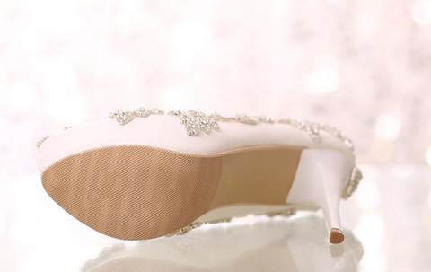 bottom soles of wedding shoes pu rubber