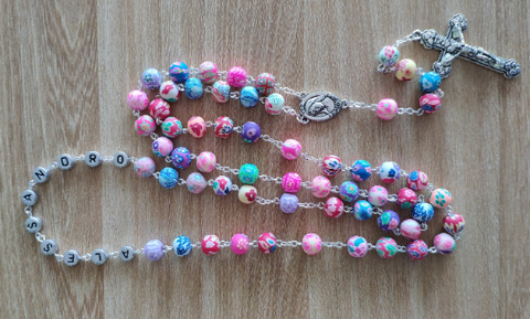 custom name rosary