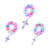 Colorful Clay Bead Finger Rosary (12 pieces)
