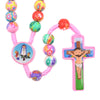 kids rosary colorful clay rosary, kids personalized name rosary, catholic kids gift - free shipping winfinity brands