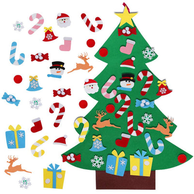 CREATEME™ Felt Christmas Tree Activity Set