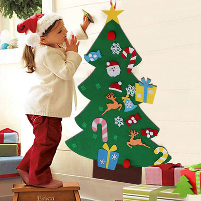 Felt Christmas Tree for Toddler and Kids - winfinity brands, felt tree for kids activity